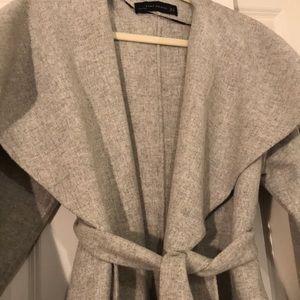 Zara Jackets & Coats - Zara wool waterfall coat